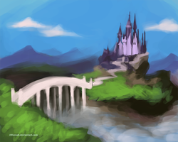 Princess Castle_concept by JillLenaD