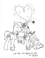 Stuff from my Mission 1 - Wedding Ponies by DragonwolfRooke