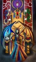 Demon Throne by Pyrra