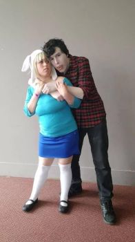 [AT] Marshall Lee and Fionna by Choccola