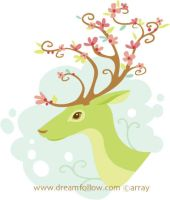 Spring Antlers by merwing