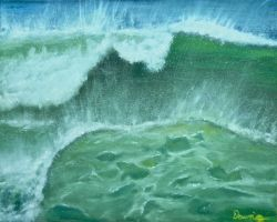 Oceans Green by GraceVisions