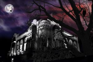 Haunted Mansion by naini