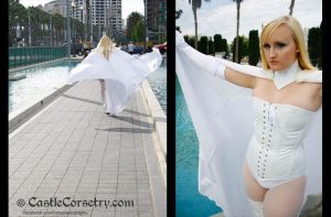 Emma Frost by CastleCorsetry