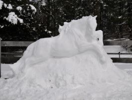2013 Snow Horse by mooki003