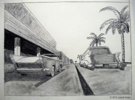 Your Car Needs Fins to Cruise by Joe5art