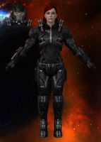 Customized Shepard of Mystressb by Melllin