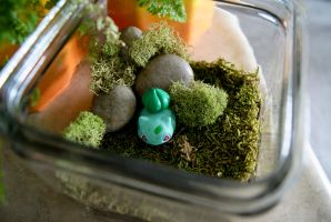 Bulbasaur Pokemon Terrarium by MaForet