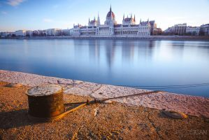 Sunrise in Budapest by sican