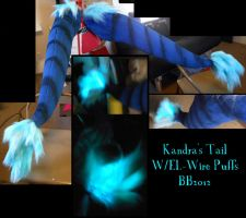 Kandra's Dragon Tail with Glow by Magpieb0nes
