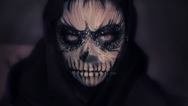 Skull Makeup by AnnieOh