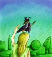 11. Defying Gravity - Watercolour by MagicalyMade