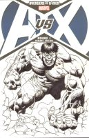 Hulk AvsX Blank Cover Commission by RubusTheBarbarian
