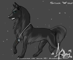 Star Wolf by Asenceana