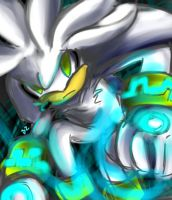Silver the hedgehog my life by Zubwayori