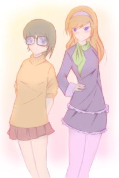 Velma and Daphne by bekicots