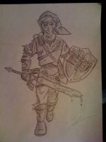 Battle Wounded Link by Twinkie5000