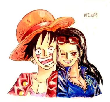 Luffy x robin favourites by monstrel45 on deviantart - One piece luffy x robin ...