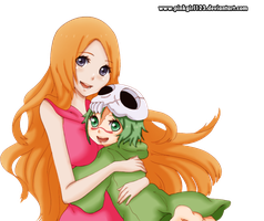 orihime and nell by PinkGirl123