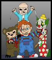 Chucky VS Demonic Toys by Lordwormm