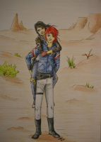 Dusty and Party Poison - request by KnifeInToaster