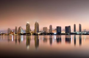 Downtown San Diego by Lopeth