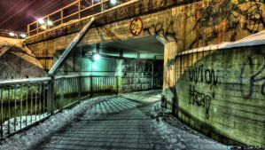 Tunnel to the dark side by Klemola
