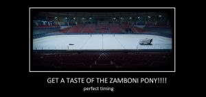 Get A Taste Of The Zamboni Pony by V1EWT1FUL