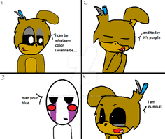 How to Make Five Nights at Freddy's 3 Not Scary by mlppinkie1