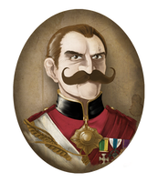 Colonel Sebastian Moran by DarkJimbo