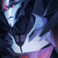 Starscream Speedpaint by fayrenpickpocket
