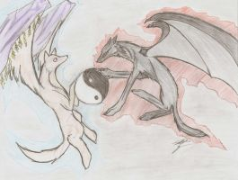 The Wolves of Yin and Yang by MoonlightShadow1602