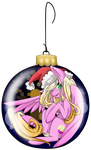 Ornament Ponies: Vanilla Berry by MagicaRin