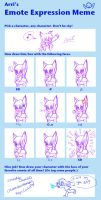 emote expression meme by OreoMilu