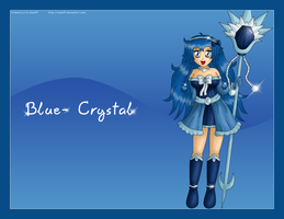 Blue- Crystal by izka197