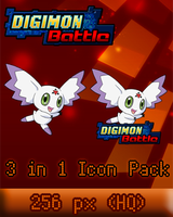 Digimon Battle 256px Icon by bfrheostat