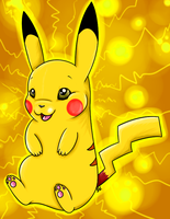 #025: Pikachu by disasterpuppet