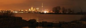 toronto by the lake panorama. by theycome