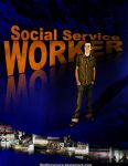 Social service work poster for school by MatthewCore