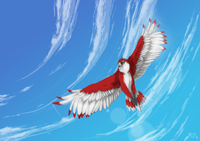 We're flying high by Antrague