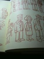 Simpsons Handbook, Skinner and Edna by Matsuri1128