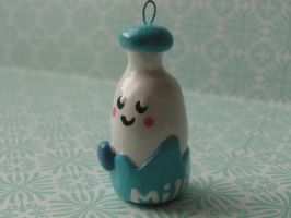 Kawaii Clay Milk Jug by CraftyOlivia