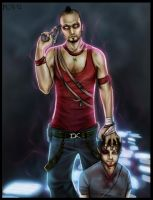 Vaas, Jason and glowy stuff by Sonen89