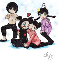 Pucca y sus amigos 2 by Angelus19