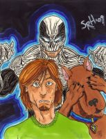 Haunt, Shaggy, and Scoob by mmmmmpig