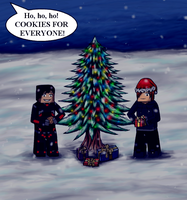 Request For Jacobmalins1 - Minecraft - Christmas by Hemuvel