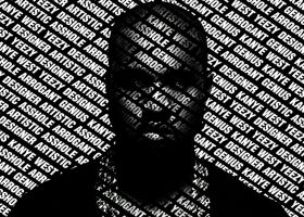 Kanye West Typography by NewtDesigns