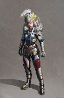 Warrior Concept by Jasinai