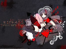 Kick@$$ Valentines Day wallpaper by SnowStar90