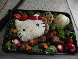 My first Bento by Chelsegorn